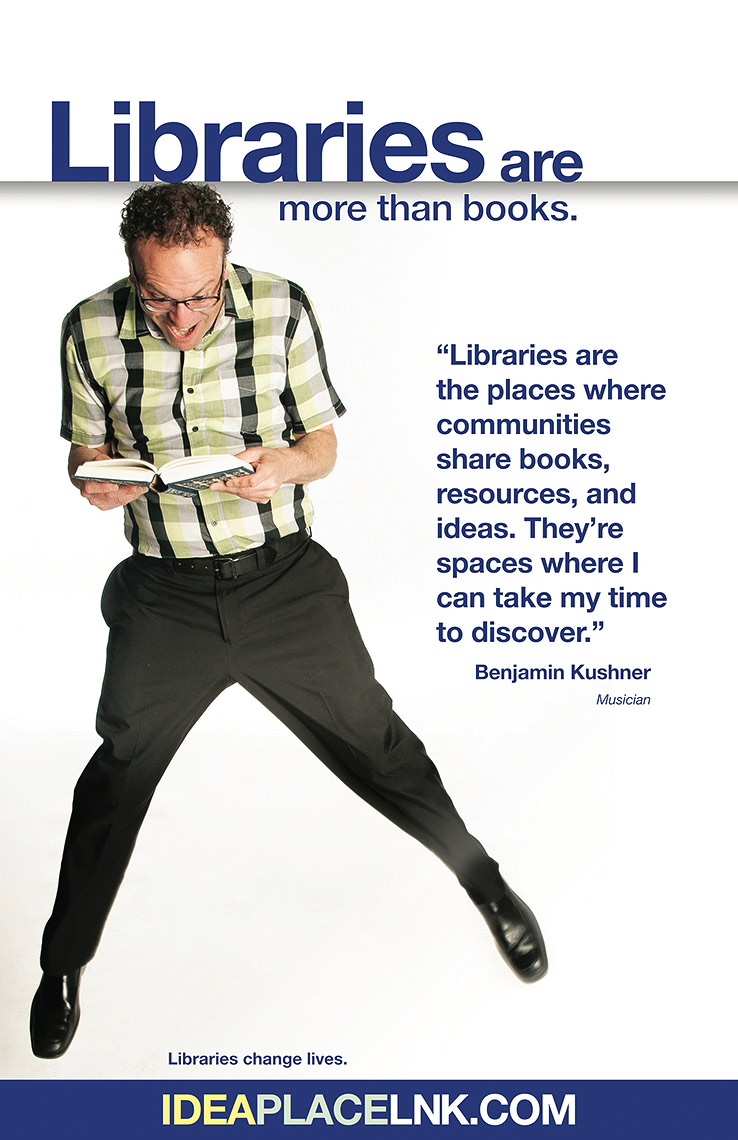 Ben Kushner for Lincoln City Libraries