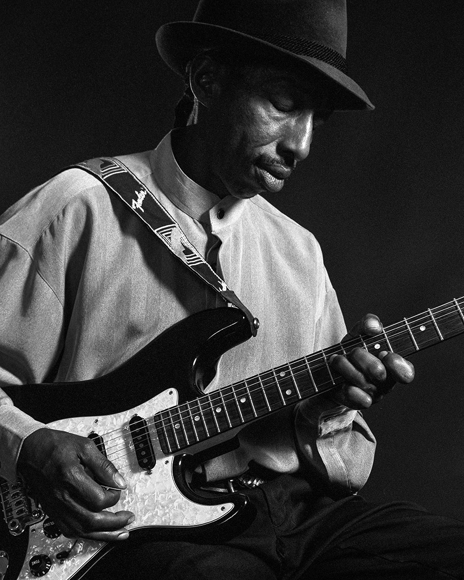 Portrait of a Blues Guitarist