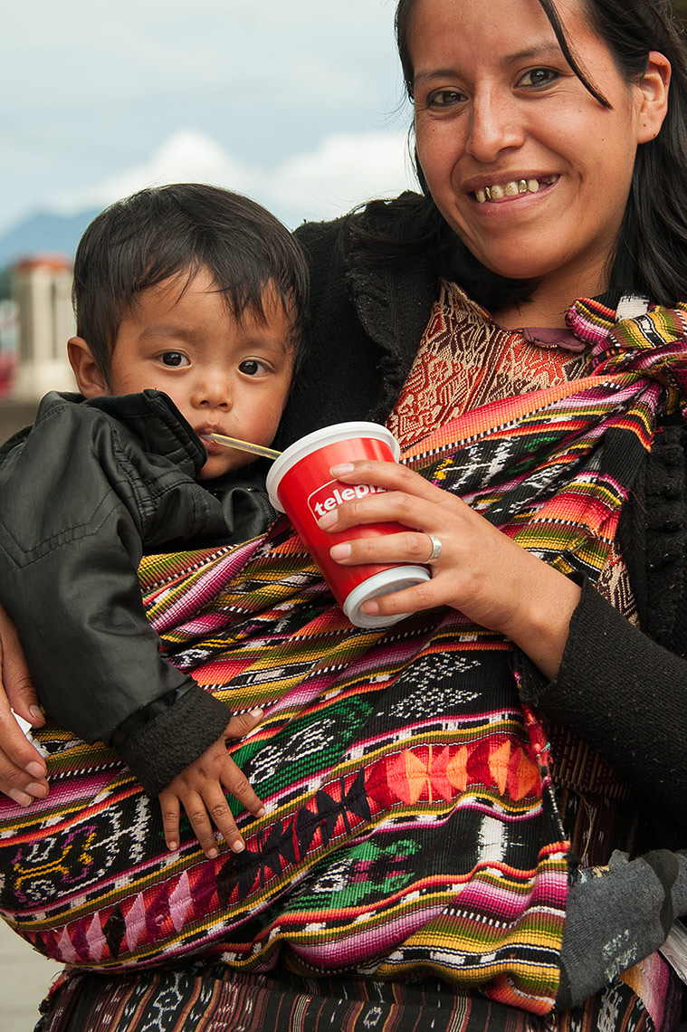 Mother and Child in Guatemala