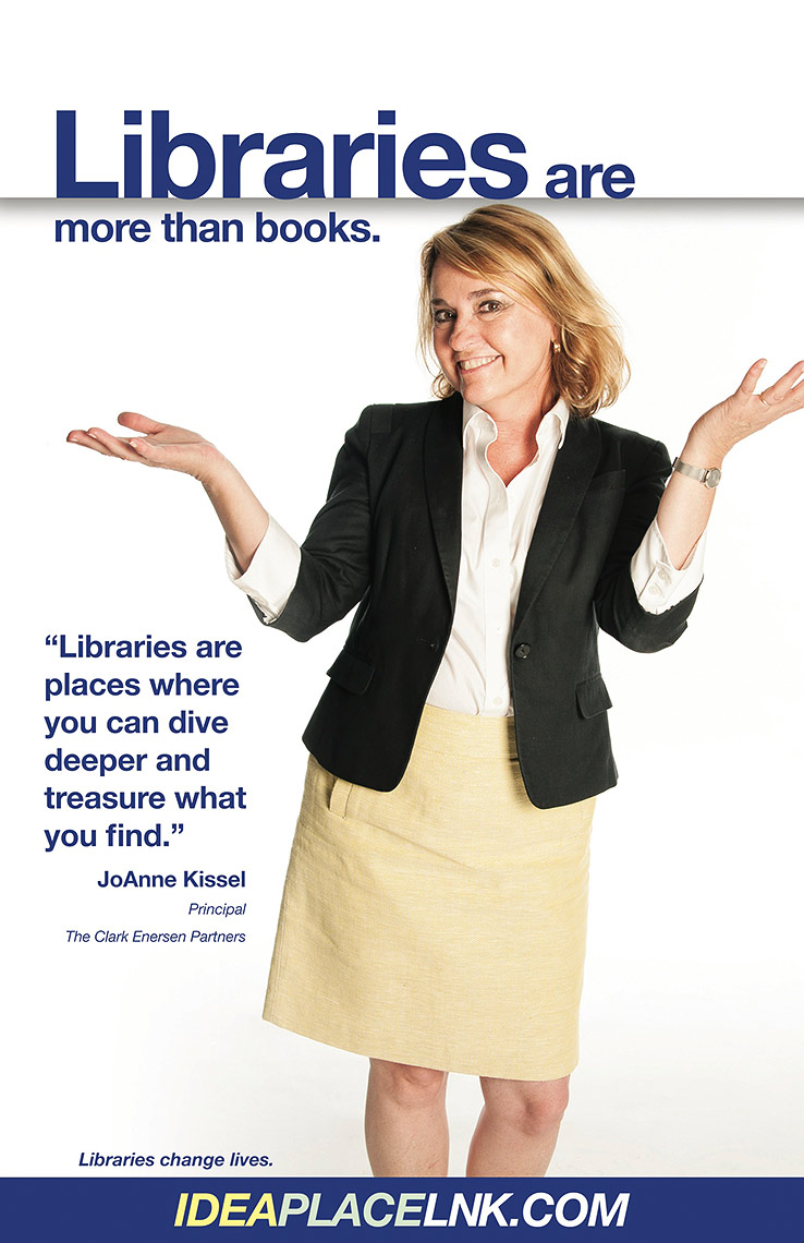 JoAnne Kissel for Lincoln City Libraries