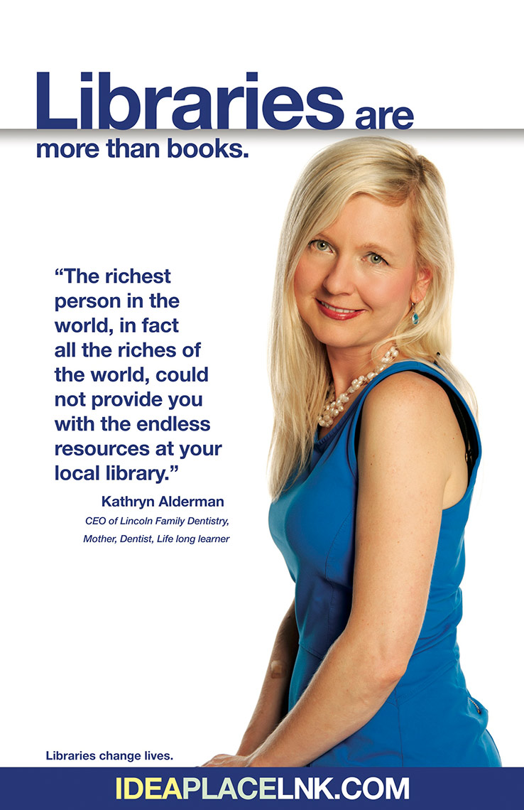 Kathryn Alderman for Lincoln City Libraries