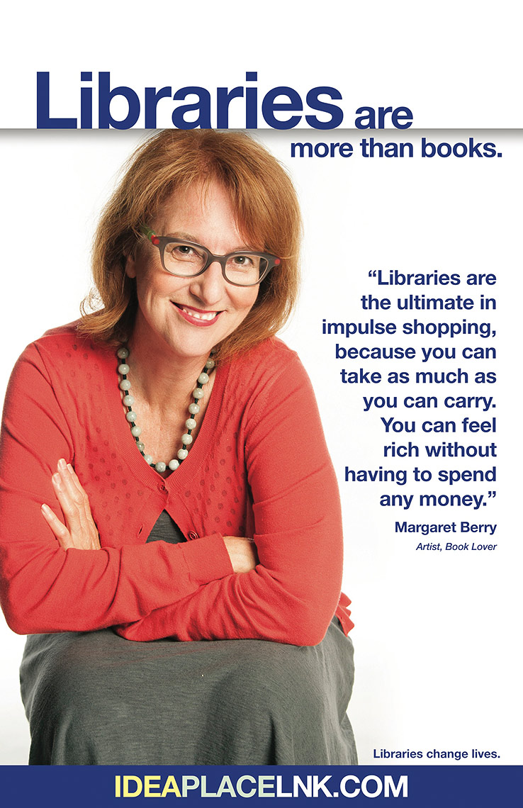 Margaret Berry for Lincoln City Libraries