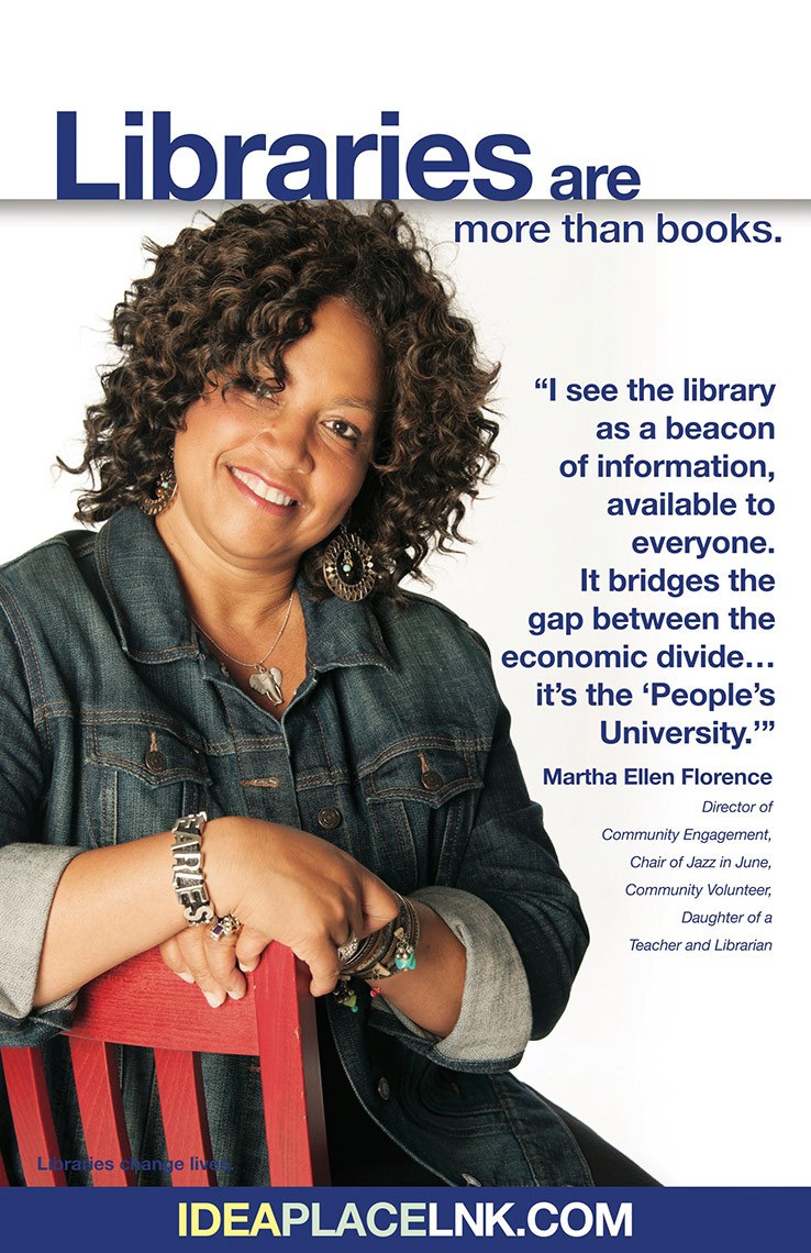 Martha Florence for Lincoln City Libraries