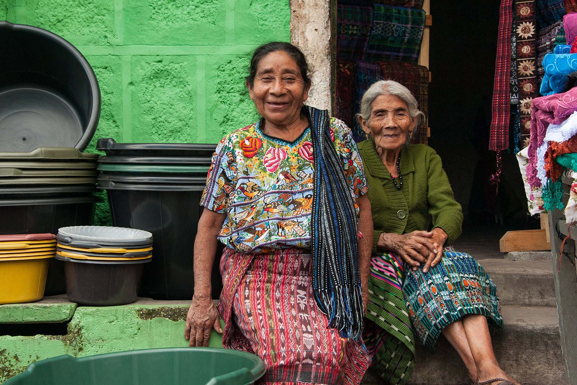 Women at Lake Atitlan, Guatemala