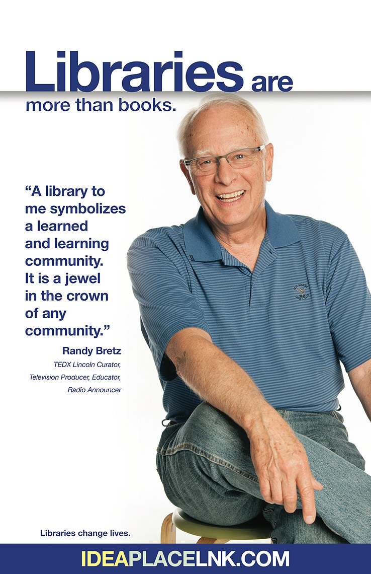 Randy Bretz for Lincoln City Libraries